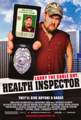 Larry the Cable Guy: Health Inspector - 27 x 40 Movie Poster - Style A
