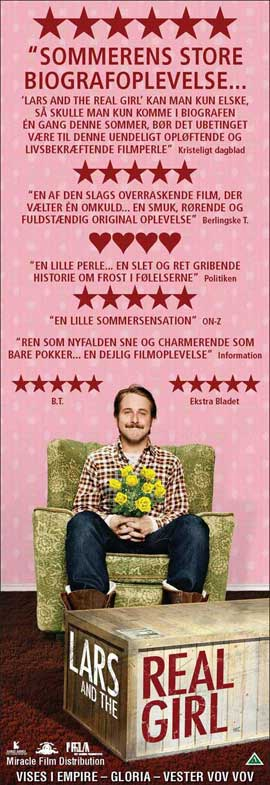 Lars and the Real Girl - 14 x 36 Movie Poster - Danish Style A