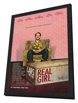 Lars and the Real Girl - 27 x 40 Movie Poster - Style A - in Deluxe Wood Frame