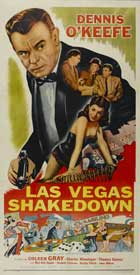 Las Vegas Shakedown - 14 x 36 Movie Poster - Insert Style A