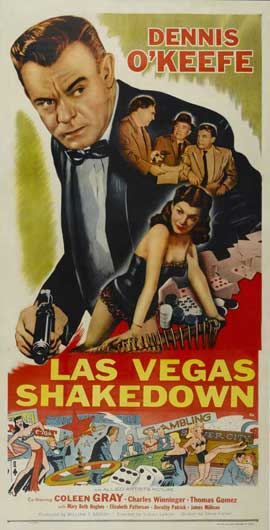 Las Vegas Shakedown - 14 x 36 Movie Poster - Insert Style A