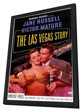 The Las Vegas Story - 11 x 17 Movie Poster - Style A - in Deluxe Wood Frame