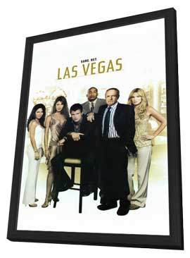 Las Vegas (TV) - 11 x 17 TV Poster - Style B - in Deluxe Wood Frame