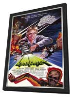 Laserblast - 27 x 40 Movie Poster - Style A - in Deluxe Wood Frame