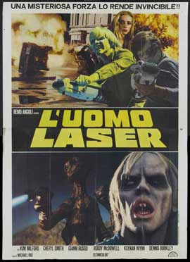 Laserblast - 11 x 17 Movie Poster - Italian Style A