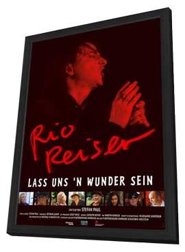 Lass uns 'n Wunder sein. Auf der Suche nach Rio Reiser - 27 x 40 Movie Poster - German Style A - in Deluxe Wood Frame