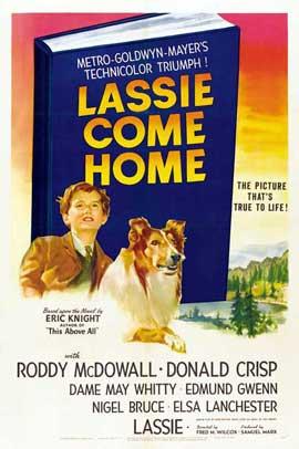 Lassie, Come Home - 27 x 40 Movie Poster - Style B