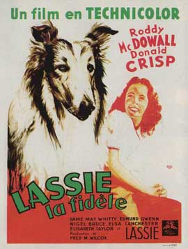 Lassie, Come Home - 11 x 17 Movie Poster - French Style A