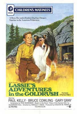 Lassies Adventures In Gold Rush - 11 x 17 Movie Poster - Style A