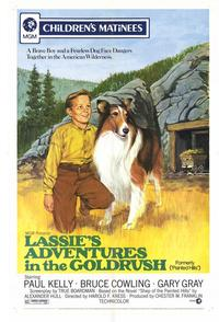 Lassies Adventures In Gold Rush - 27 x 40 Movie Poster - Style A