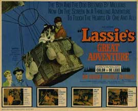 Lassie's Great Adventure - 11 x 14 Movie Poster - Style B