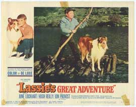 Lassie's Great Adventure - 11 x 14 Movie Poster - Style H