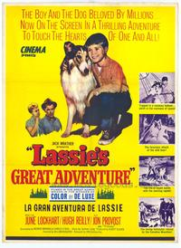 Lassie's Great Adventure - 43 x 62 Movie Poster - Bus Shelter Style A