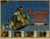 Lassie's Great Adventure - 22 x 28 Movie Poster - Half Sheet Style A