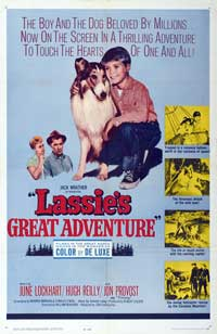 Lassie's Great Adventure - 27 x 40 Movie Poster - Style B