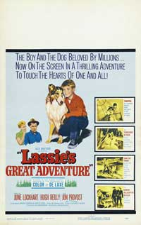 Lassie's Great Adventure - 27 x 40 Movie Poster - Style C