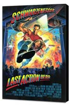 Last Action Hero - 27 x 40 Movie Poster - Style A - Museum Wrapped Canvas