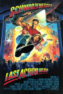 Last Action Hero - 27 x 40 Movie Poster - Style A