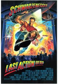 Last Action Hero - 43 x 62 Movie Poster - Bus Shelter Style A