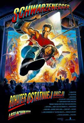 Last Action Hero - 27 x 40 Movie Poster - Polish Style A