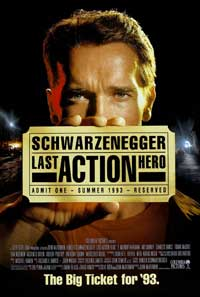 Last Action Hero - 43 x 62 Movie Poster - Bus Shelter Style B