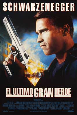 Last Action Hero - 11 x 17 Movie Poster - Spanish Style A