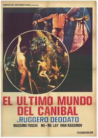 Last Cannibal World - 11 x 17 Movie Poster - Spanish Style A