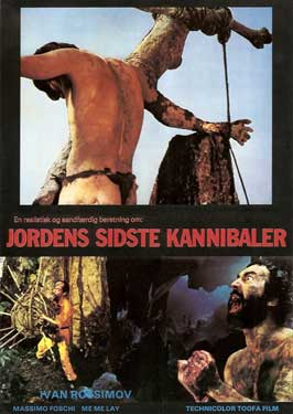 Last Cannibal World - 11 x 17 Movie Poster - Danish Style A