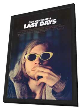 Last Days - 27 x 40 Movie Poster - Style A - in Deluxe Wood Frame