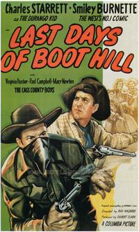 Last Days of Boot Hill - 43 x 62 Movie Poster - Bus Shelter Style A
