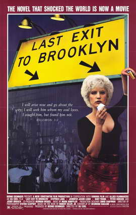 Last Exit to Brooklyn - 11 x 17 Movie Poster - Style B