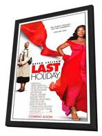 Last Holiday - 11 x 17 Movie Poster - Style A - in Deluxe Wood Frame