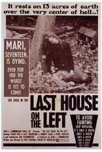 Last House on the Left - 27 x 40 Movie Poster - Style A