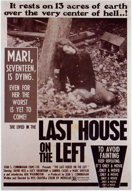 Last House on the Left - 11 x 17 Movie Poster - Style A