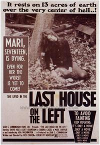 Last House on the Left - 43 x 62 Movie Poster - Bus Shelter Style A