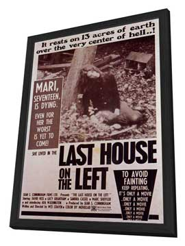 Last House on the Left - 11 x 17 Movie Poster - Style A - in Deluxe Wood Frame