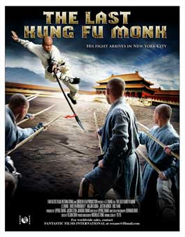 Last Kung Fu Monk - 27 x 40 Movie Poster - Style A