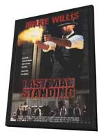 Last Man Standing - 11 x 17 Movie Poster - Style B - in Deluxe Wood Frame