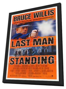 Last Man Standing - 27 x 40 Movie Poster - Style A - in Deluxe Wood Frame