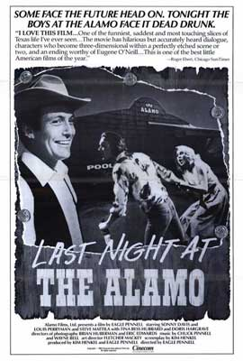 Last Night at the Alamo - 27 x 40 Movie Poster - Style A