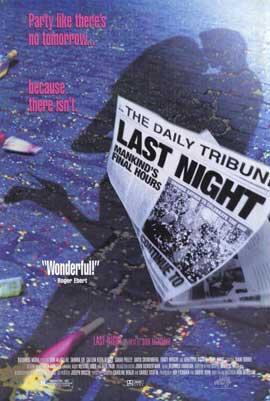 Last Night - 11 x 17 Movie Poster - Style B