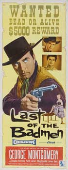 Last of The Badmen - 14 x 36 Movie Poster - Insert Style A