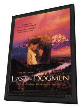 The Last of the Dogmen - 11 x 17 Movie Poster - Style A - in Deluxe Wood Frame