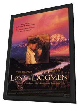 The Last of the Dogmen - 27 x 40 Movie Poster - Style A - in Deluxe Wood Frame