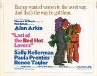 Last of the Red Hot Lovers - 11 x 14 Movie Poster - Style A