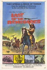 Last of the Renegades - 11 x 17 Movie Poster - Style A