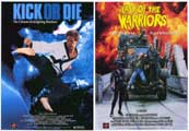 Last of the Warriors/Kick or Die - 27 x 40 Movie Poster - Style A