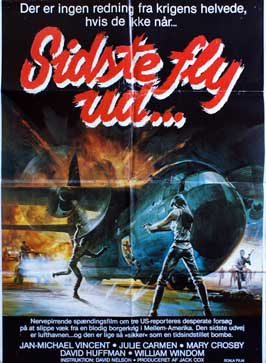 Last Plane Out - 11 x 17 Movie Poster - Danish Style A