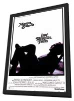 Last Tango in Paris - 11 x 17 Movie Poster - Style A - in Deluxe Wood Frame