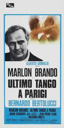 Last Tango in Paris - 13 x 28 Movie Poster - Italian Style A